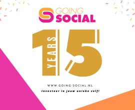 Going Social bestaat 15 jaar